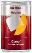 Curatif Four Pillars Spiced Negroni Can 140mL