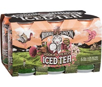Brookvale Union Vodka Peach Iced Tea Can 330mL