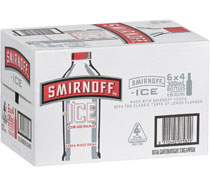 Smirnoff Ice Red Bottles 300mL