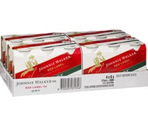 Johnnie Walker Red & Ginger Can 375mL